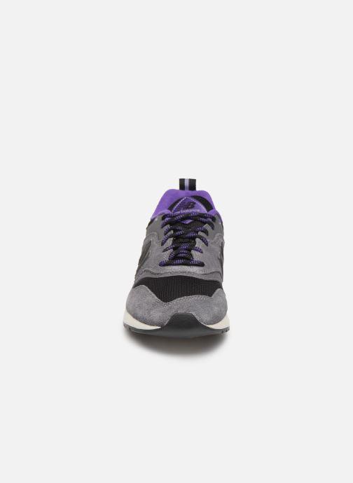 Sneaker New Balance 997 grau schuhe getragen