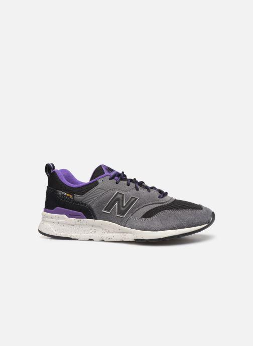 Sneaker New Balance 997 grau ansicht von hinten
