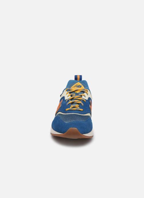 Sneaker New Balance 997 blau schuhe getragen