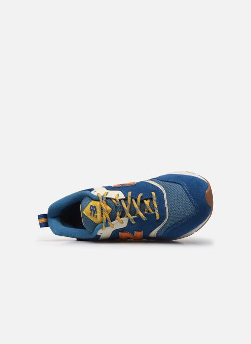 Sneaker New Balance 997 blau ansicht von links
