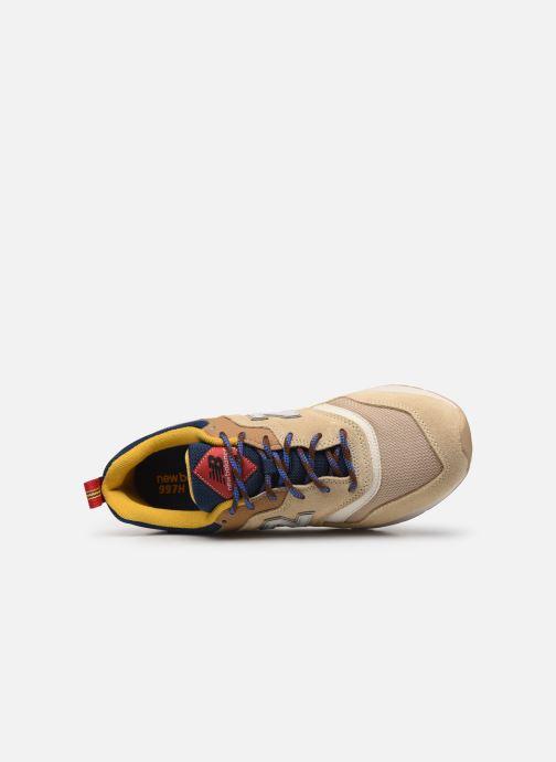 Baskets New Balance 997 Beige vue gauche