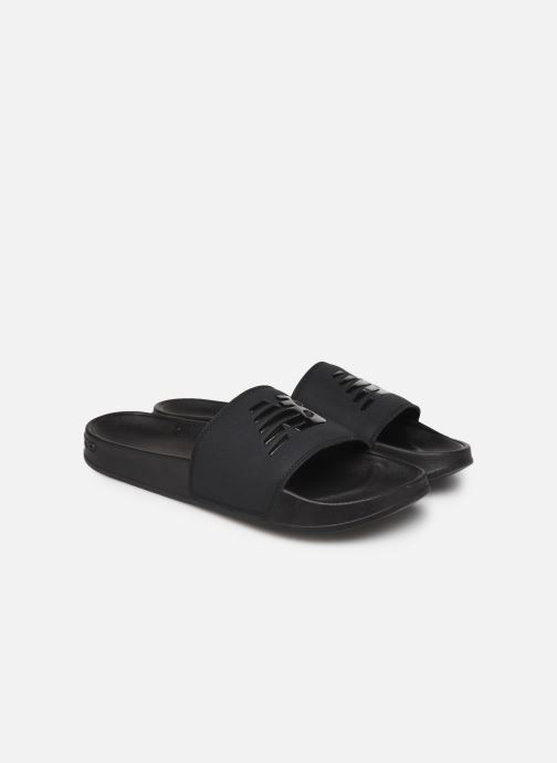 Sandals New Balance SMF200K1 Black 3/4 view