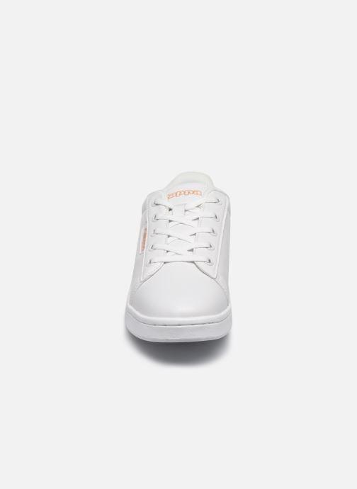 Baskets Kappa Tchouri Lace Blanc vue portées chaussures