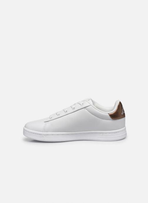 Sneakers Kappa Tchouri Lace Bianco immagine frontale