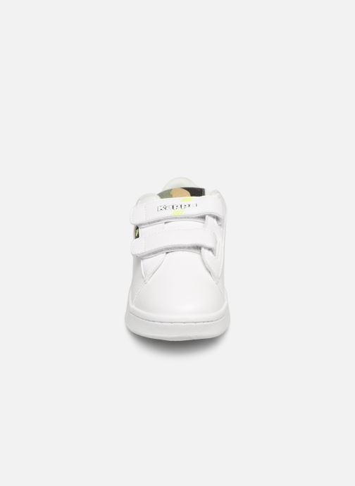 Baskets Kappa Tchouri V Blanc vue portées chaussures