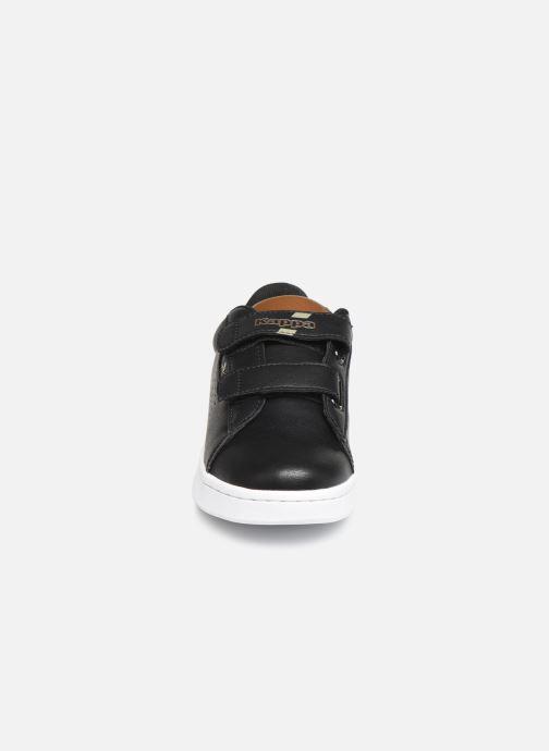 Baskets Kappa Tchouri V Noir vue portées chaussures