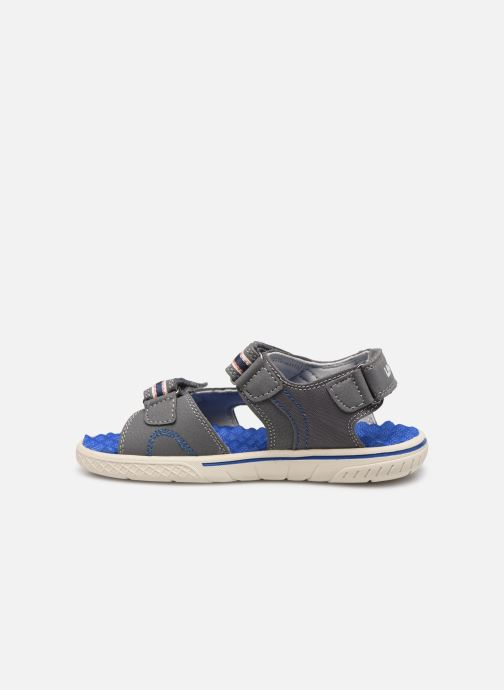 Sandales et nu-pieds Levi's Santa Barbara Gris vue face