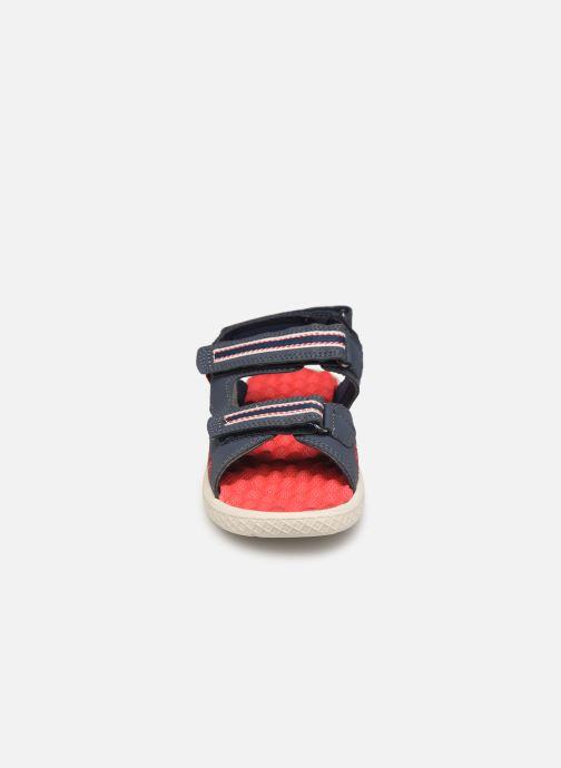 Sandales et nu-pieds Levi's Santa Barbara Bleu vue portées chaussures