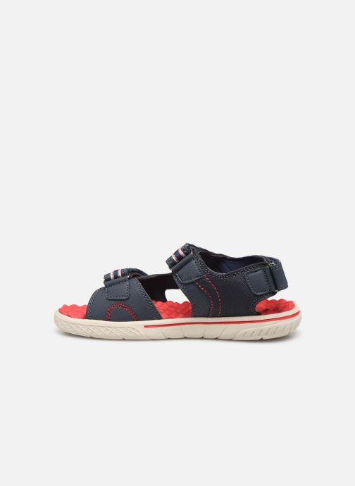 Sandales et nu-pieds Levi's Santa Barbara Bleu vue face