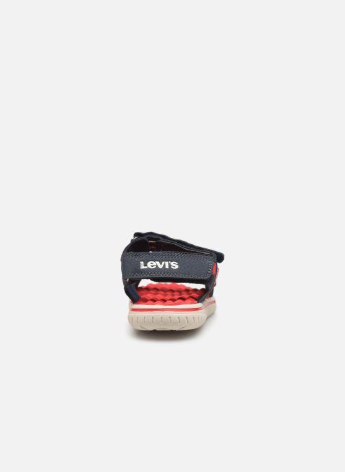 Sandales et nu-pieds Levi's Santa Barbara Bleu vue droite