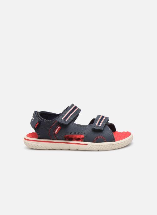 Sandales et nu-pieds Levi's Santa Barbara Bleu vue derrière