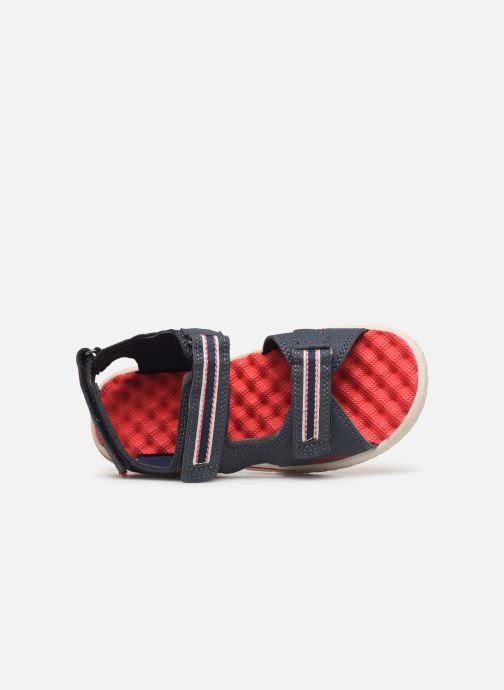 Sandales et nu-pieds Levi's Santa Barbara Bleu vue gauche
