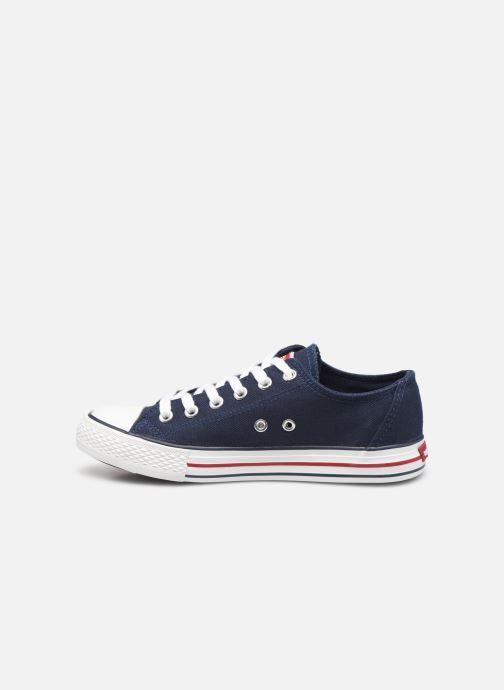Sneakers Levi's Trucker Low Blauw voorkant