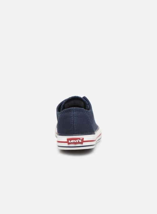Trainers Levi's Trucker Low Blue view from the right