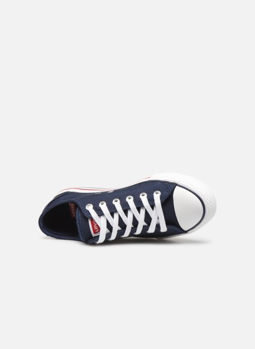 Trainers Levi's Trucker Low Blue view from the left