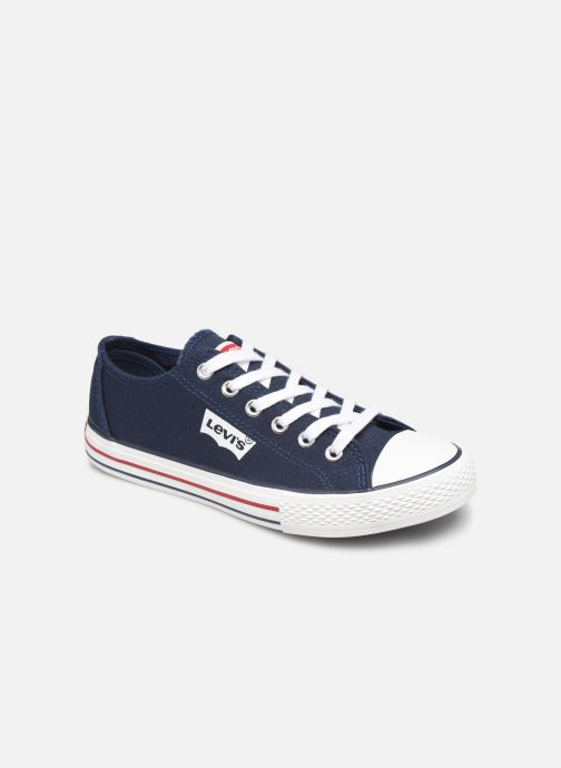 Baskets Levi's Trucker Low Bleu vue détail/paire