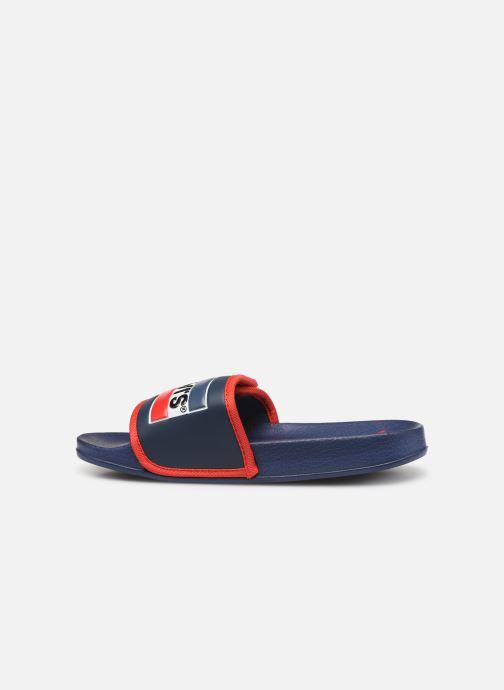 Sandales et nu-pieds Levi's Game Bleu vue face