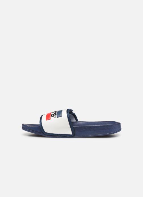 Sandales et nu-pieds Levi's Game Blanc vue face