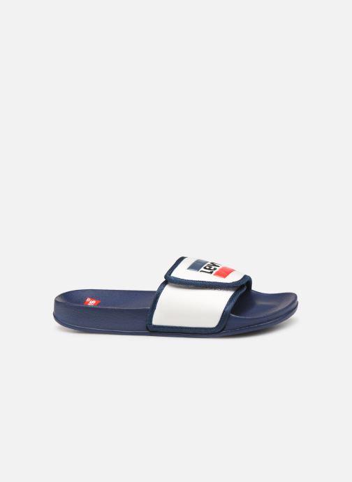 Sandales et nu-pieds Levi's Game Blanc vue derrière