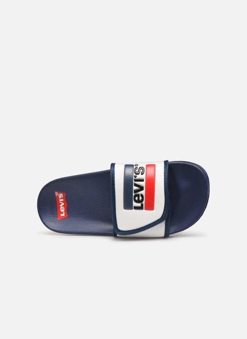 Sandales et nu-pieds Levi's Game Blanc vue gauche