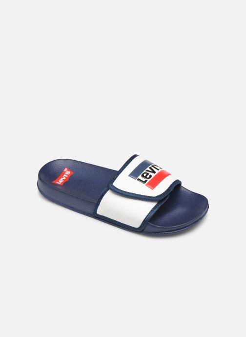 Sandales et nu-pieds Levi's Game Blanc vue détail/paire