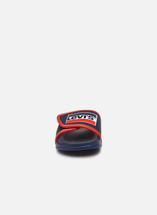 Sandales et nu-pieds Levi's Game Bleu vue portées chaussures