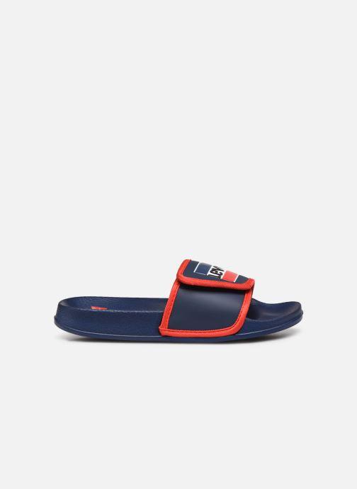 Sandales et nu-pieds Levi's Game Bleu vue derrière