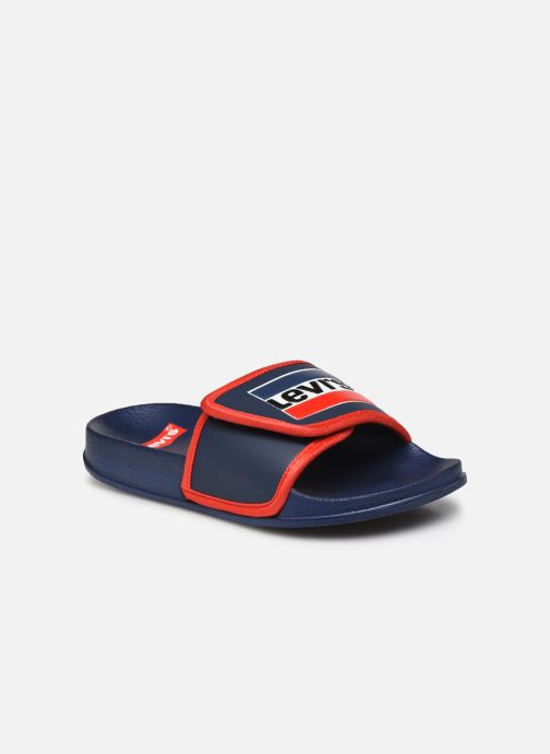 Sandales et nu-pieds Levi's Game Bleu vue détail/paire