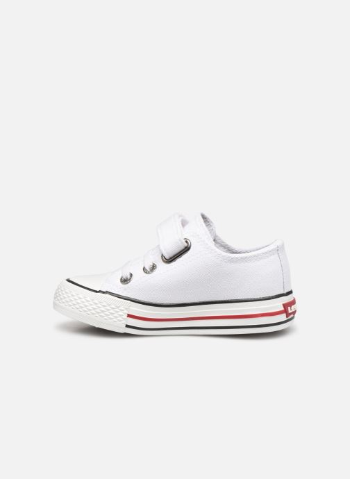 Trainers Levi's Trucker Mini Low White front view