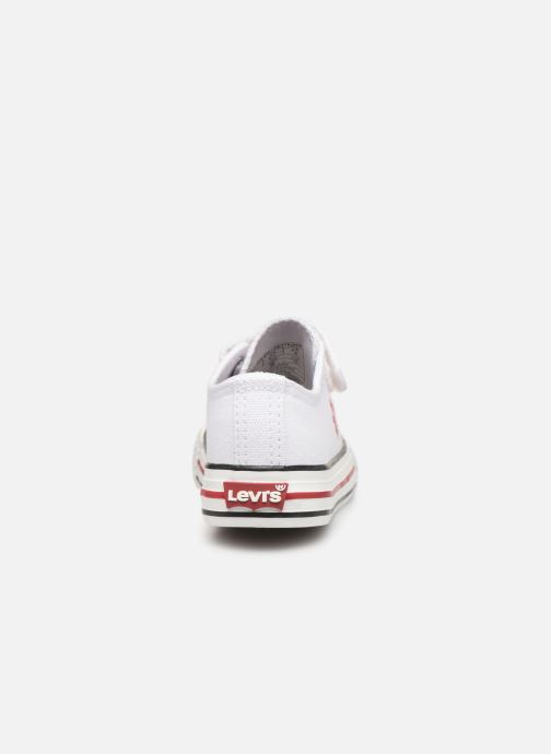 Trainers Levi's Trucker Mini Low White view from the right