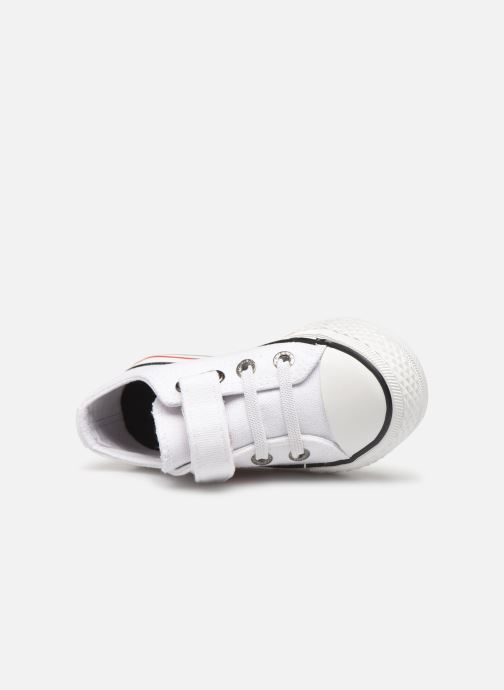 Trainers Levi's Trucker Mini Low White view from the left