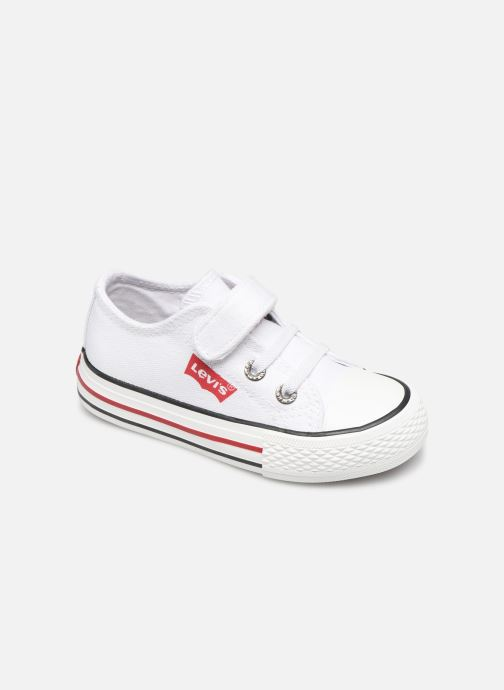 Trainers Levi's Trucker Mini Low White detailed view/ Pair view