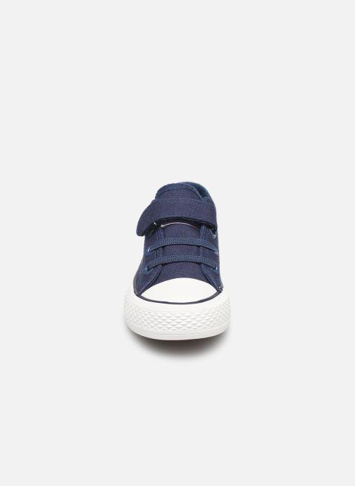 Baskets Levi's Trucker Mini Low Bleu vue portées chaussures