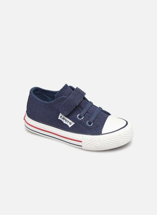Baskets Levi's Trucker Mini Low Bleu vue détail/paire