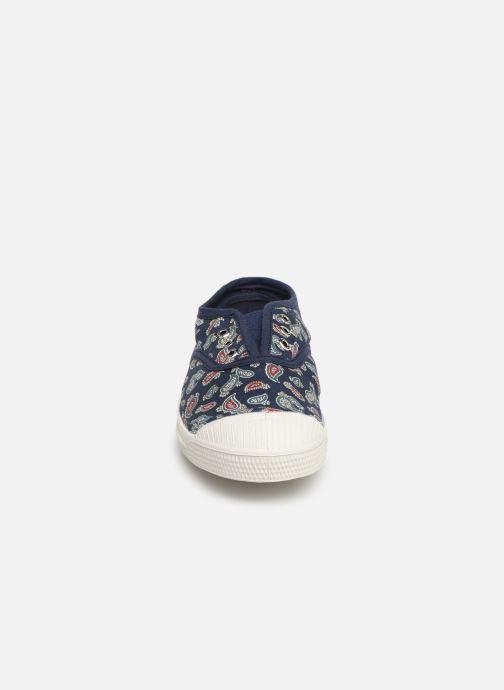 Sneakers Bensimon Tennis Elly Bandana E Azzurro modello indossato