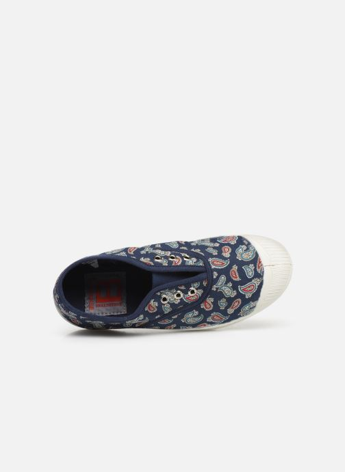 Trainers Bensimon Tennis Elly Bandana E Blue view from the left