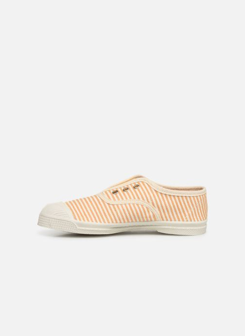 Trainers Bensimon Tennis Elly Rayure E Yellow front view