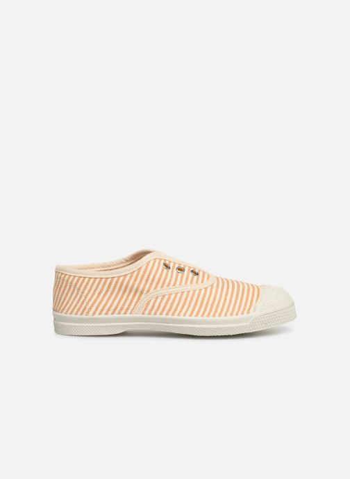 Trainers Bensimon Tennis Elly Rayure E Yellow back view