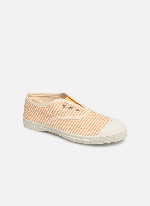 Trainers Bensimon Tennis Elly Rayure E Yellow detailed view/ Pair view