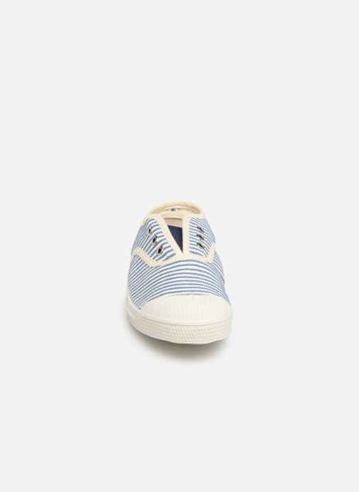Trainers Bensimon Tennis Elly Rayure E Blue model view