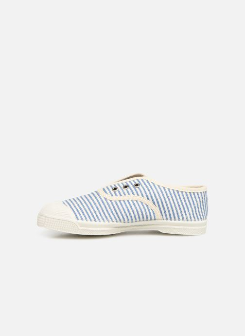 Trainers Bensimon Tennis Elly Rayure E Blue front view