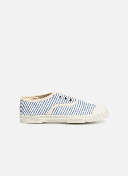 Trainers Bensimon Tennis Elly Rayure E Blue back view