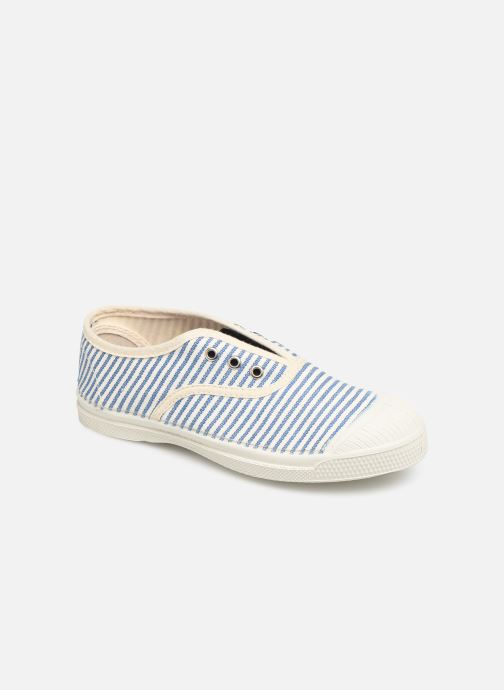Trainers Bensimon Tennis Elly Rayure E Blue detailed view/ Pair view