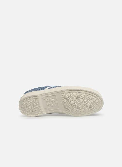 Sneakers Bensimon Tennis Elly Denim Rayure E Azzurro immagine dall'alto