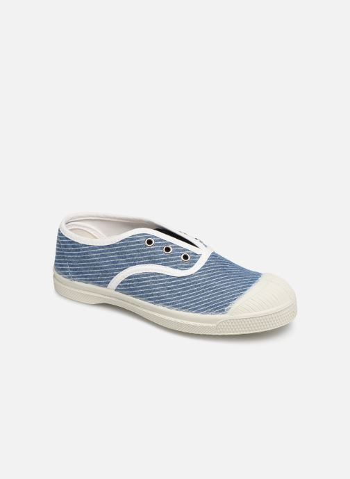 Sneakers Bensimon Tennis Elly Denim Rayure E Blå detaljeret billede af skoene