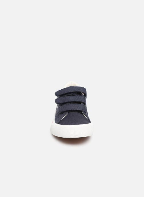 Baskets Polo Ralph Lauren Edgewood EZ Bleu vue portées chaussures