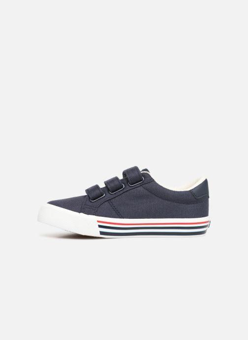 Sneakers Polo Ralph Lauren Edgewood EZ Blauw voorkant