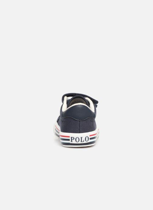 Sneaker Polo Ralph Lauren Edgewood EZ blau ansicht von rechts
