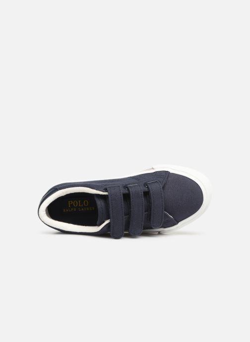 Sneaker Polo Ralph Lauren Edgewood EZ blau ansicht von links