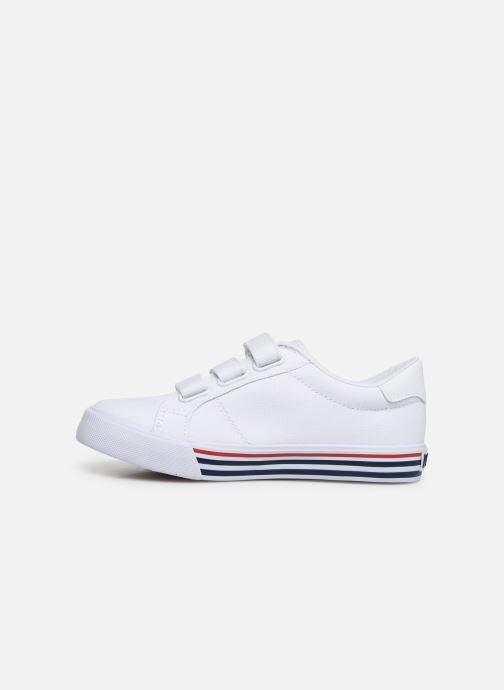 Sneakers Polo Ralph Lauren Edgewood EZ Wit voorkant